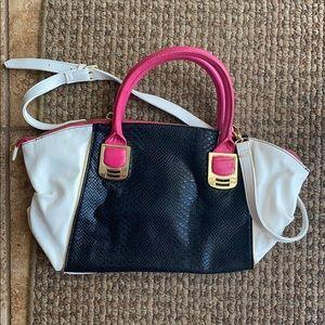 Steve Madden Colorblock Crossbody Satchel Bag